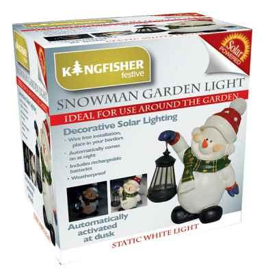 Solar Snow Man