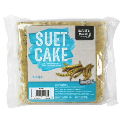 Suet Cake with Mealworms [NOT EU]