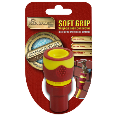 Pro Gold Snap-On Half Inch Female Hose Connector