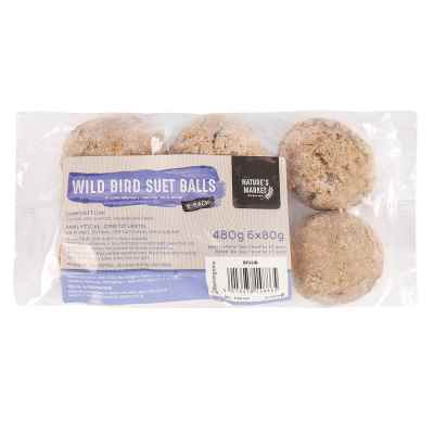 6 Pack of Suet Fat Balls [NOT EU]