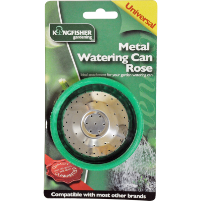 Metal Watering Can Rose