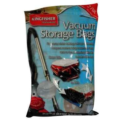 2 Pack Vacuum Storage Bags 70cmx90cm