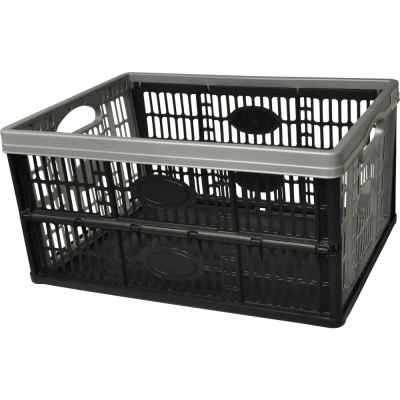32L Flat Pack Plastic Storage Crate