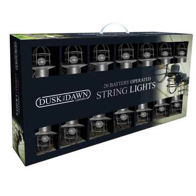 20 Outdoor LED Industrial Lantern String lights