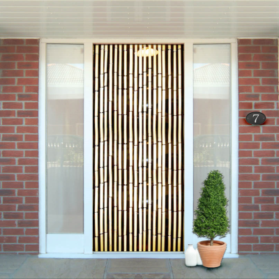 Bamboo Door Screen Curtain