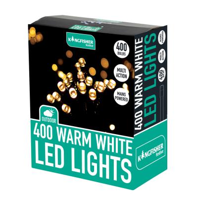 400 Led Mains Multi Action Warm White