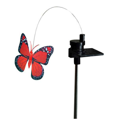 Solar Powered Rotating Motion Butterfly