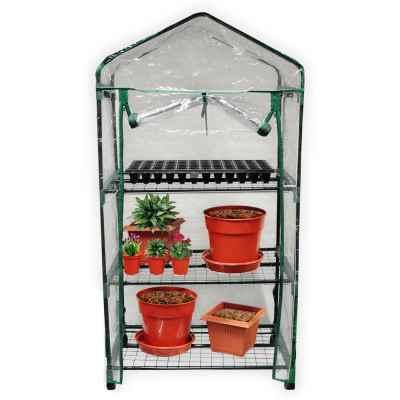 3 Tier Greenhouse on Wheels