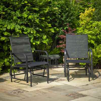 Garden Patio Love Seat Rocker