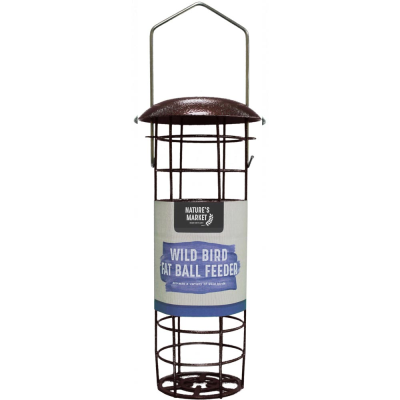 Premium Hammertone Finish Fat Ball Bird Feeder