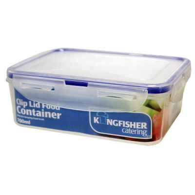 Medium Rectangular Food Box - 1900ML