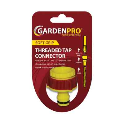 Pro Gold Threaded Tap Connector