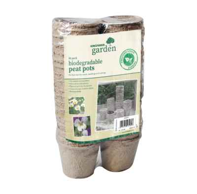 36 Pack 8cm(3in) Biodegradable Round Peat Pots