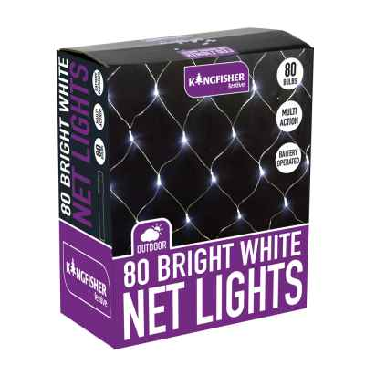 80 Battery Operated M-A Automatic Net Lights