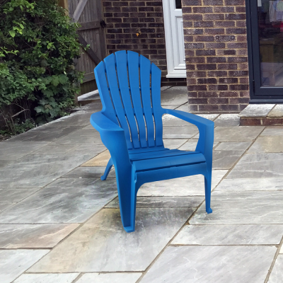 Plastic Arm Chair in 3 Colours