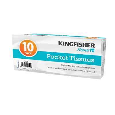 10 Pack Handy Pocket Tissues
