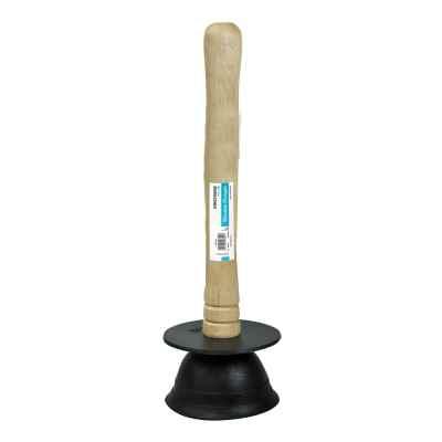 4.5inch (11cm) Wooden Handled Sink Drain Plunger