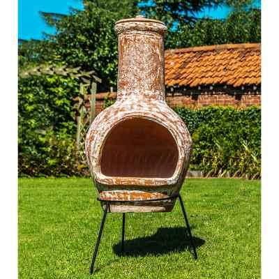 Terracotta Chiminea Large