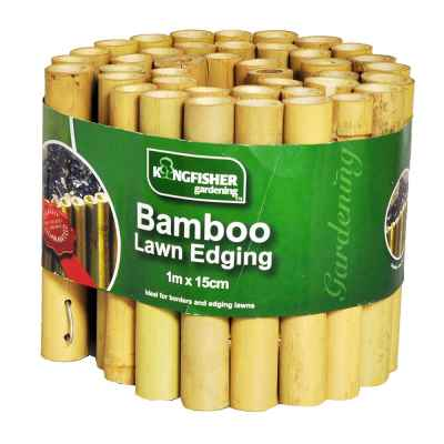 15cm (6in) Bamboo Garden Edging