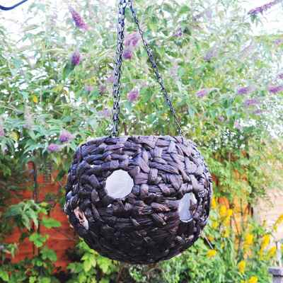 9 Inch Hanging basket with Planting Holes