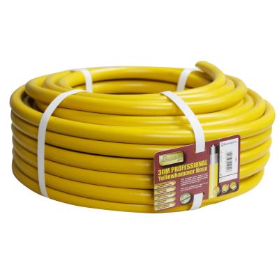 Pro Gold 30m Yellow Reinforced Garden Hose