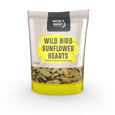 0.9kg Bag Sunflower Hearts Feed