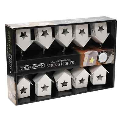 10 White House Battery Powered String Light