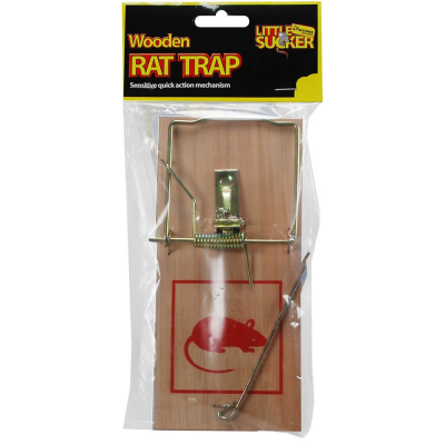 Traditional Wooden Rat Trap