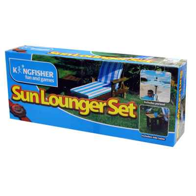 Kids Sun Lounger Set