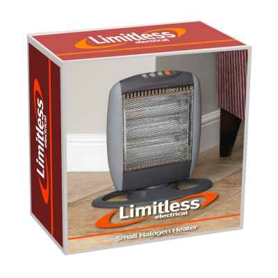 1200w Small Halogen Heater