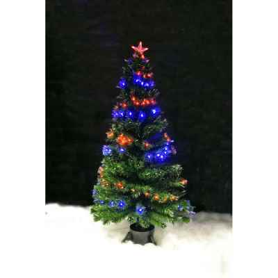 5ft (150cm) LED and Fibre Optic Christmas Tree