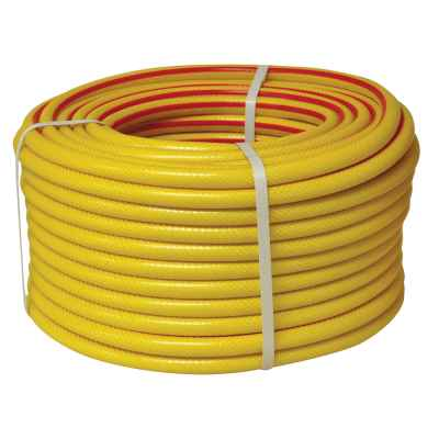 Gold 50m Yellow Reinforced Garden Hose
