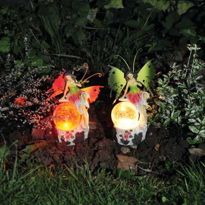 Small Solar Fairy Garden Light Decoration