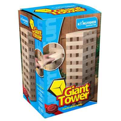 Giant Tower Wooden Blocks