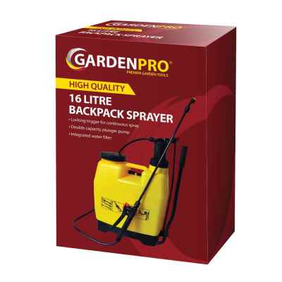 Garden Pro 16L Backpack Sprayer