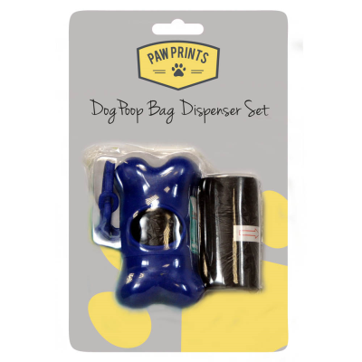 Doggy Poop Bag Dispenser and Bags