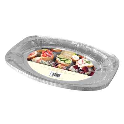 4 Pack of 11inch Foil Platters