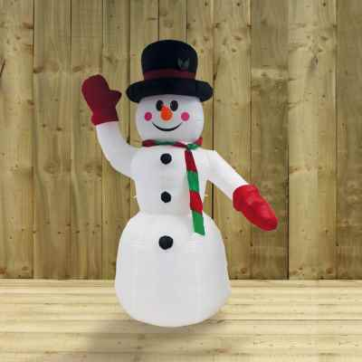 2.4m Inflatable Snow Man