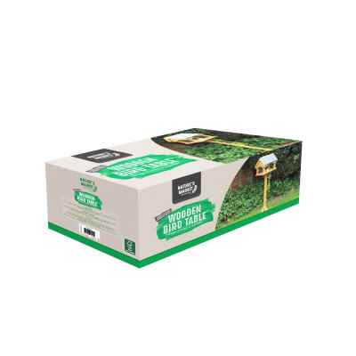 Slate Roof Bird Table - FSC 100% - TT-COC-005449