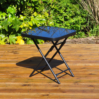 Folding Drinks Side Garden Patio Table
