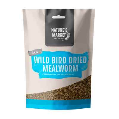 1kg Bag Mealworms Wild Bird Feed [NOT EU]