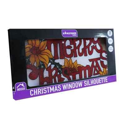 Metallic Merry Christmas Light Battery Operated
