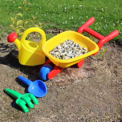 Childrens Wheelbarrow Gardening Set