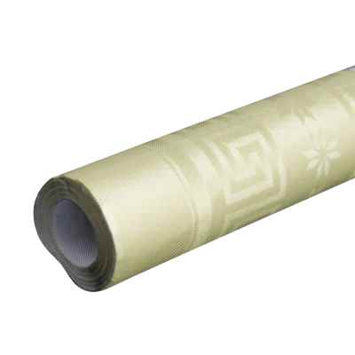 7m Gold Paper Banqueting Roll
