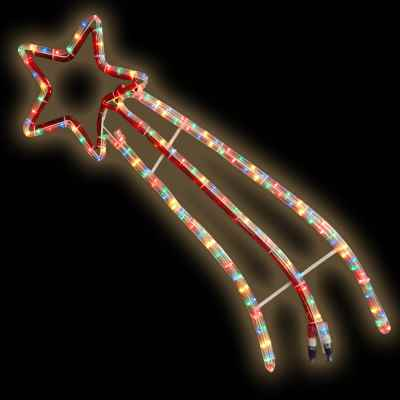 Shooting Star M/Coloured Multi Action Rope Light
