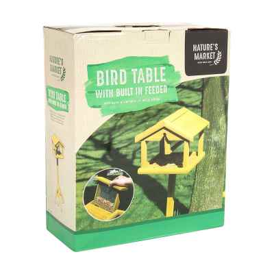 Premium Bird Table with Built in Feeder