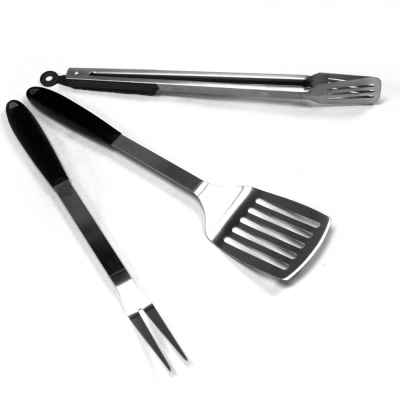 Silicon BBQ Tool Set In Two Colours
