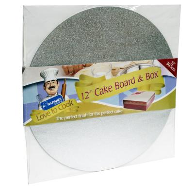 12 Inch Cake Board and Box