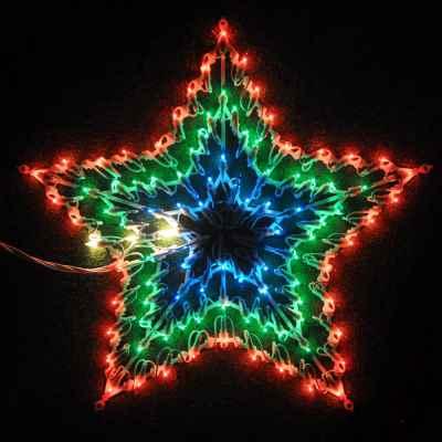 100 Bulb Chasing Star