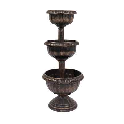 3 Tiered Antique Planter